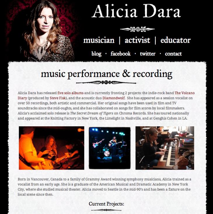 Alicia Dara Screenshot