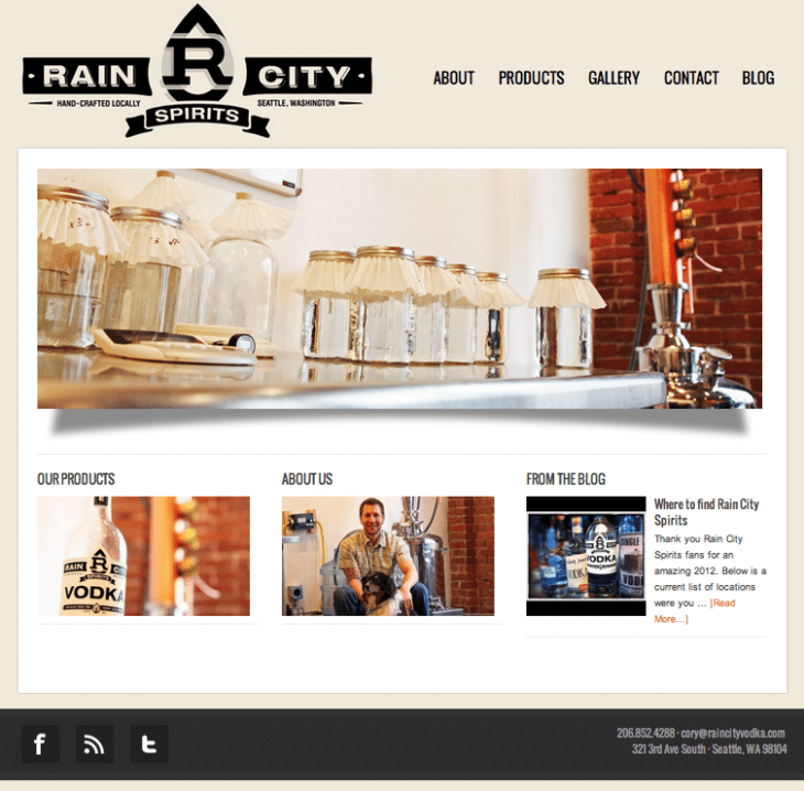rain city screenshot